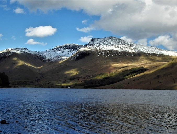 Scafell Pike, English Highest Mountain