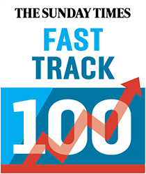 The Sunday Times Fast Track 100 logo