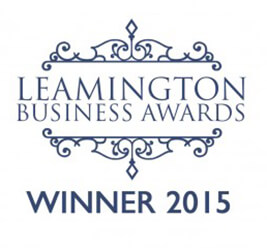 Leamington Business Awards Winner 2015