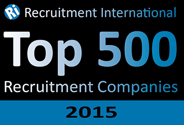 Top 500 Recruitment Companies 2015 logo