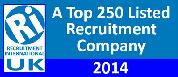 Top 250 Recruitment Companies 2014 logo