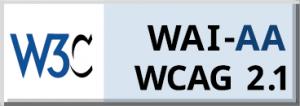 We meet the WCAG 2.1 AA Standard