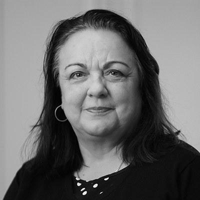 Team photo of Elaine Adams, Head of Finance and Administration