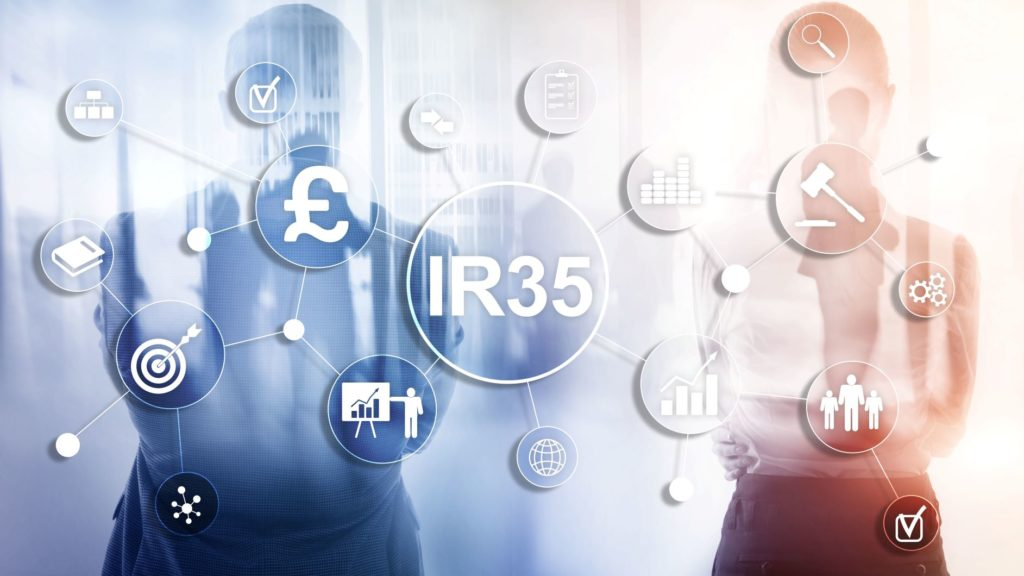 Illustration of roles of contractors within organisations in relation to IR35